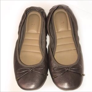 Me Too Flats Halle 52.0 leather Ballet  bronze